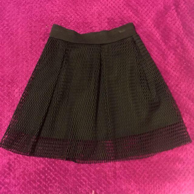 Mesh Skirt Size 8