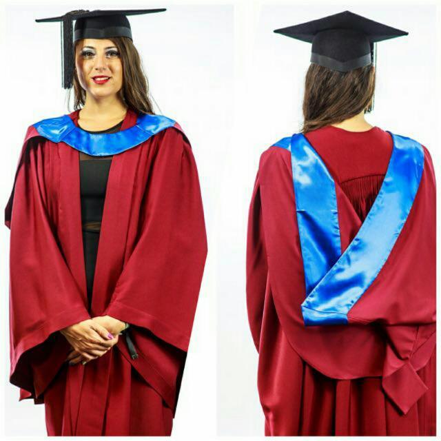 Murdoch University Regalia/ Graduation Gown Rental, Women\'s Fashion ...