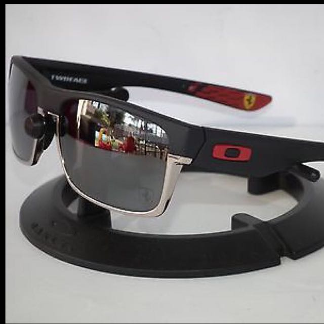 8a5b1145d97b6 ... low price oakley twoface scuderia ferrari asian fit retail 320 selling  cheap luxury accessories on carousell