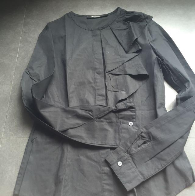 Ori G2000 Long Sleeves Women Work Shirt Size 34