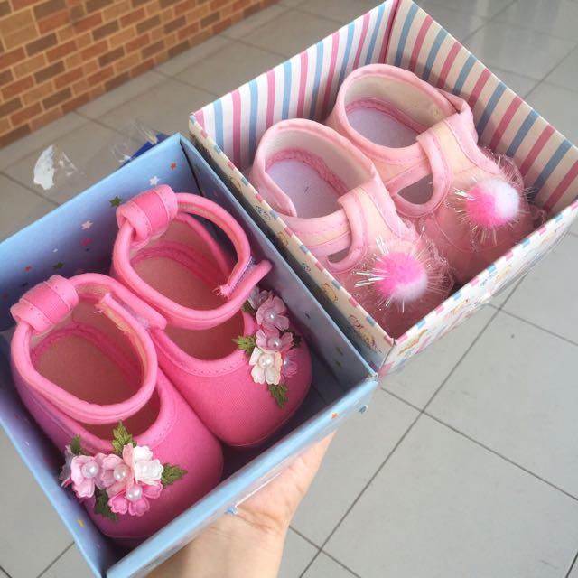 pink prewalker baby