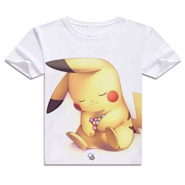 781776fc Pokemon [Pikachu Part 2] Short Sleeve & Long Sleeve T-shirts ...