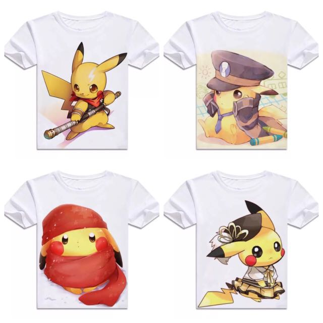 4b180248 Pokemon [Pikachu Part 2] Short Sleeve & Long Sleeve T-shirts, Bulletin  Board, Preorders on Carousell