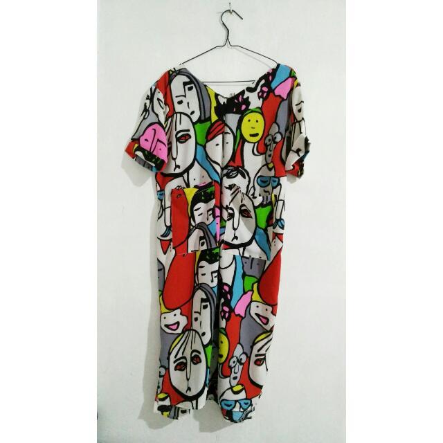 Pretty Good Pop-Art Dress