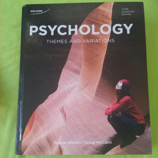 Psychology : Themes And Variations 3rd Ed
