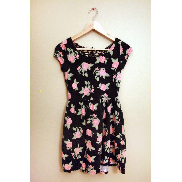S Floral Garage Dress