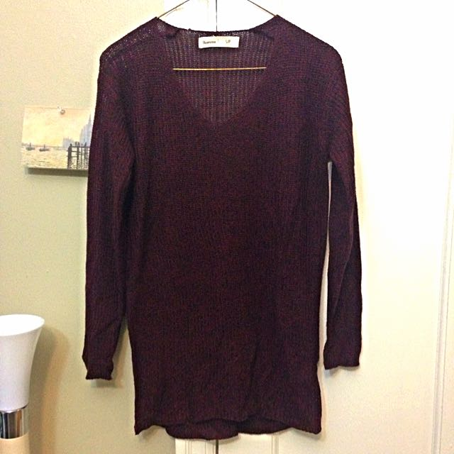 Small Maroon Sweater