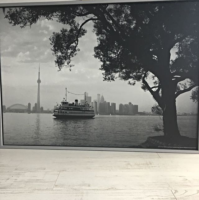 Toronto Island CN TOWER Portrait