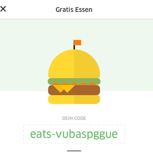 Uber Eats 10$ Voucher