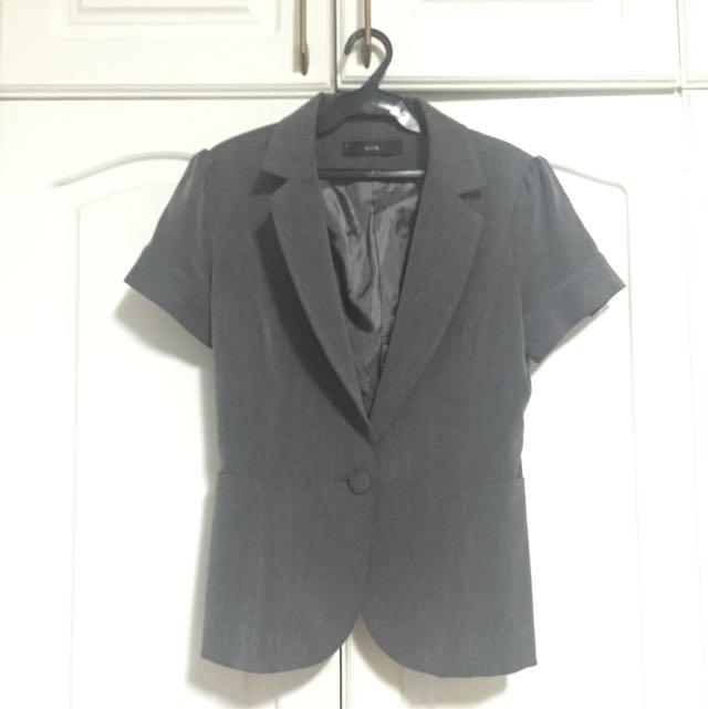UNA Short-sleeved Blazer