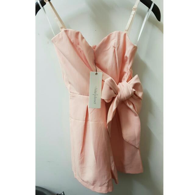 White Closet - Pink Romper