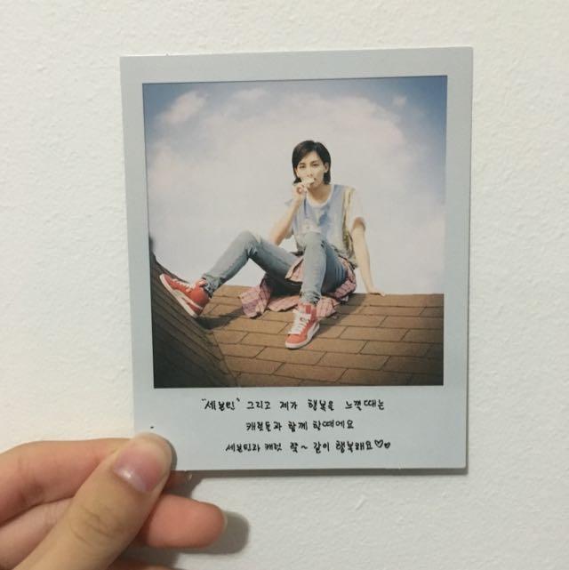 [WTS/WTT] Jeonghan PC Love&Letter Repackaged Album