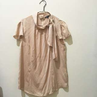 Brown blouse the executive like New