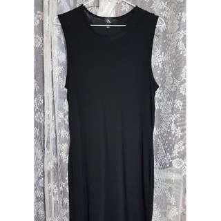 (400含郵)CK黑色連身裙(M)