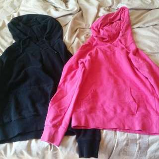 Black And Pink Small H&M Hoodies