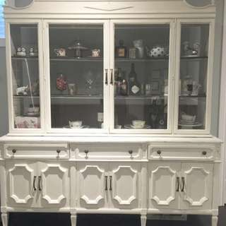 Solid Wood Kitchen Hutch