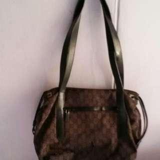 Preloved Gucci Shoulder Tote Bag