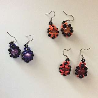 Lady Bug Earrings