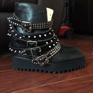 Jeffrey Campbell Draco-stud Booties