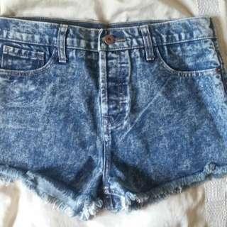 High Waisted Forever 21 Size 27 Denim Shorts - RESERVED