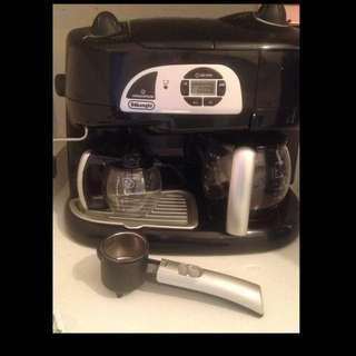 DeLonghi Coffee & Cappuccino Combo Machine