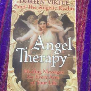 Angel Therapy Book By Doreen Virtue