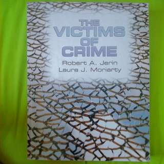 The Victims Of Crime By Jerin And Moriarty