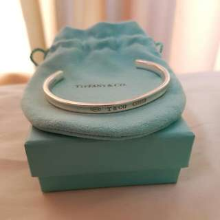 Tiffany And Co. Sterling Silver Cuff