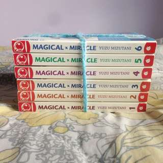 Magical X Miracle COMPLETE SERIE