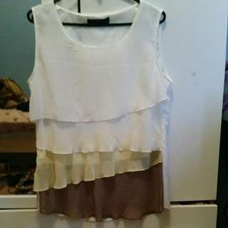 Size Large Formal Top