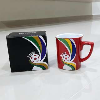 Nescafe 2014 World Cup Brazil Porcelain Mug