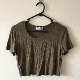 Olive Crop Tshirt