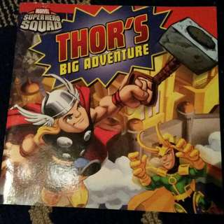 Thor's Big Adventure Book