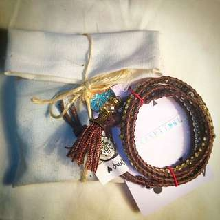 Lara Handmade Boho Wrap Bracelet
