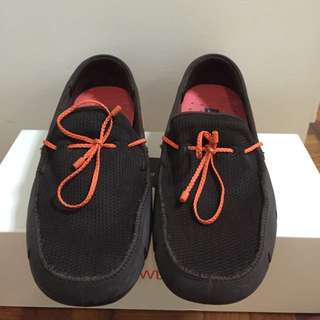 Swims Lace Loafers brown/orange