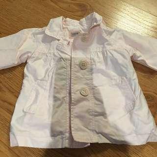 18-24 Month Girls Light Pink Fall Jacket