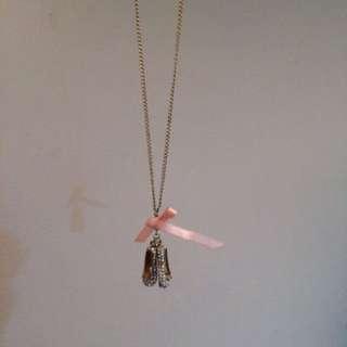 Cute Ballerina Show Necklace