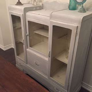 One Of A Kind Antique Cabinet