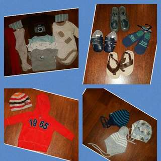 Lot Of Baby Boy Clothes And Shoes 6-12 Month