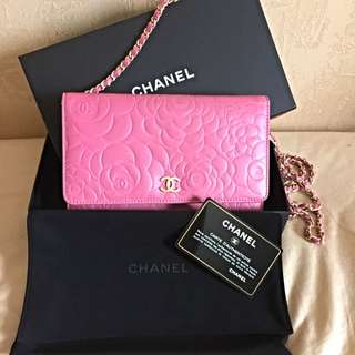100% Authentic Chanel Wallet On Chain