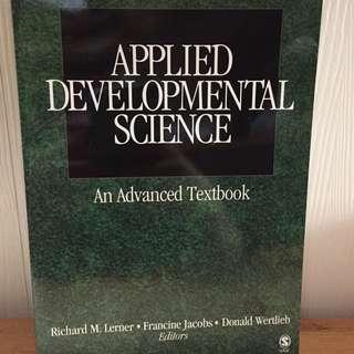 Applied Developmental Science: An Advanced Textbook