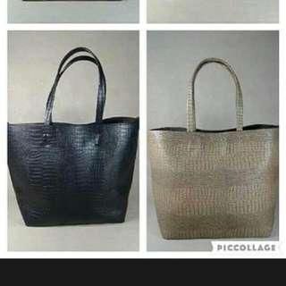 Croco bags