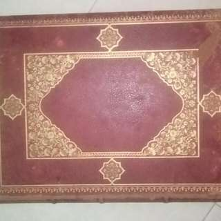 167 years Old Hardcover Leather Book