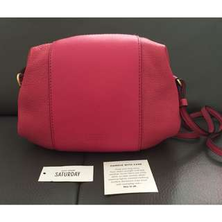 Kate Spade Saturday 4IRU0341 Pebbled Leather Small Crossbody Pouch