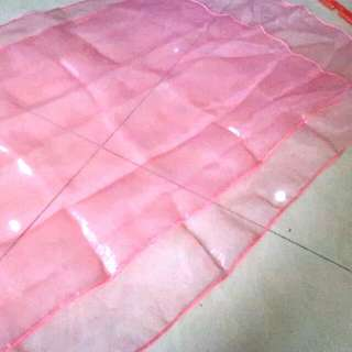 Scarf / Selendang Pink