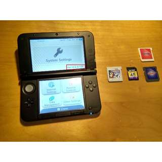 (Reserved) 3DS XL Grey, Gateway 3DS Card Included