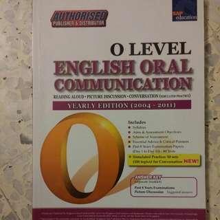 O Level English Oral Communication