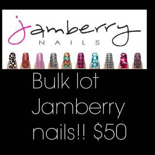BULK JAMBERRY NAIL WRAPS