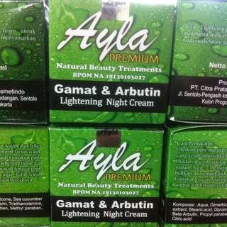 Ayla Night Cream Premium