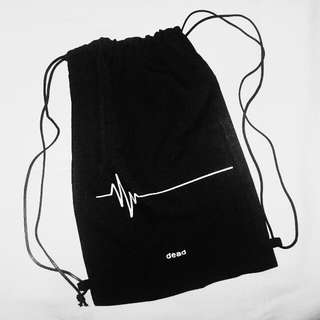 ₱50 OFF! Dead Drawstring bag
